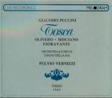 PUCCINI - Vernizzi - Tosca (Live Torino, 7 - 3 - 1960) Live Torino, 7 - 3 - 1960