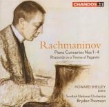 RACHMANINOV - Shelley - Rhapsodie pour piano et orchestre sur un thème d