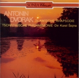 DVORAK - Sejna - Trois rhapsodies slaves, pour orchestre op.45 B.86