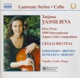 Cello Recital