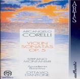 CORELLI - Montanari - Douze sonates pour violon op.5