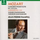 MOZART - Rampal - Concerto pour flûte et orchestre n°1 en sol majeur K.3