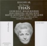 MASSENET - Sebastian - Thaïs