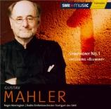 MAHLER - Norrington - Symphonie n°1 'Titan'