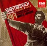 CHOSTAKOVITCH - Jansons - Symphonie n°2 op.14
