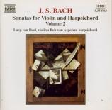 Sonatas for Violin and Harpsichord Vol.2