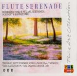 Flûte sérénade (Quatuor pour flûte, violon, alto...)