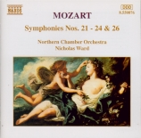 MOZART - Ward - Symphonie n°21 K.134