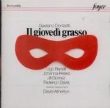 DONIZETTI - Atherton - Il giovedi grasso (live Festival de Wexford 1970) live Festival de Wexford 1970