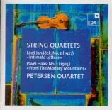 JANACEK - Petersen Quarte - Quatuor à cordes n°2 'Lettres intimes'