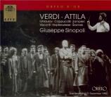 VERDI - Sinopoli - Attila, opéra en trois actes