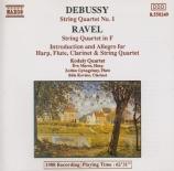 DEBUSSY - Kodaly Quartet - Quatuor à cordes op.10 L.85