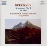 BRUCKNER - Tintner - Symphonie n°7 en mi majeur WAB 107 (Edition Haas) Edition Haas