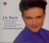 BACH - Rousset - Variations Goldberg, pour clavier BWV.988