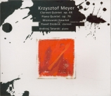 MEYER - Wieniawski Quar - Quintette avec clarinette op.66