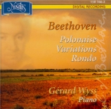 BEETHOVEN - Wyss - Polonaise pour piano op.89