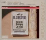 VERDI - Gardelli - Il corsaro (Le corsaire), opéra en trois actes