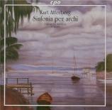 ATTERBERG - Wallin - Symphonie pour cordes op.53