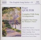 QUILTER - Langridge - Songs
