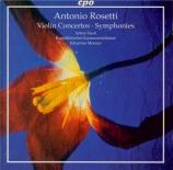 ROSETTI - Steck - Concerto pour violon en ré majeur C.6