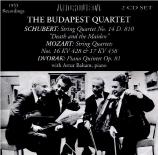 MOZART - Budapest String - Quatuor à cordes n°16 K.428