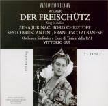 WEBER - Gui - Der Freischütz (live Torino 12 - 1 - 1955) live Torino 12 - 1 - 1955