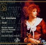 VERDI - Giulini - La traviata, opéra en trois actes