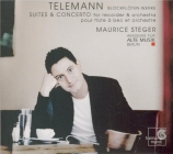 TELEMANN - Steger - Concerto pour flûte à bec, cordes et basse continue