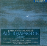 BRAHMS - Burmeister - Rhapsodie (Goethe), mélodie pour alto et chœur mas