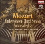 MOZART - Haselböck - Sonate d'église n°8, pour orgue et cordes en la maj