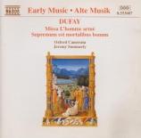 DUFAY - Summerly - Missa 'L'homme armé'