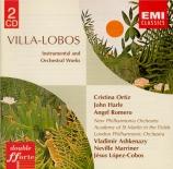 VILLA-LOBOS - Ashkenazy - Bachianas brasileiras n°3 pour piano et orches