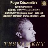IBERT - Desormiere - Divertissement, pour orchestre de chambre