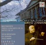 BEETHOVEN - Zinman - Triple concerto pour piano, violon et violoncelle o