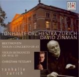 BEETHOVEN - Tetzlaff - Concerto pour violon en ré majeur op.61