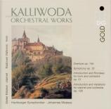 KALLIWODA - Moesus - Symphonie n°3 en ré mineur op.32