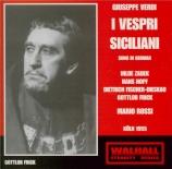 VERDI - Rossi - I vespri siciliani, opéra en cinq actes (version 1855 en chanté en allemand