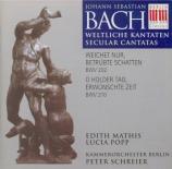 BACH - Schreier - Weichet nur, betrübte Schatten, cantate pour soprano e