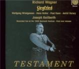 WAGNER - Keilberth - Siegfried WWV.86c