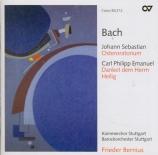 BACH - Bernius - Oratorio de pâques(Oster-Oratorium), pour solistes, ch