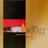 Le Domaine musical Vol.2