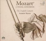 MOZART - Manze - Concerto pour violon et orchestre n°3 en sol majeur K.2