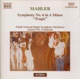 MAHLER - Wit - Symphonie n°6 'Tragique'