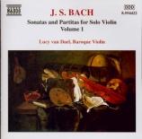 BACH - Van Dael - Sonate pour violon seul BWV 1001