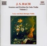 BACH - Van Dael - Partita pour violon seul n°2 en ré mineur BWV.1004