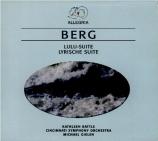 BERG - Gielen - Lulu : suite