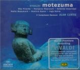 VIVALDI - Priante - Motezuma, opéra en 3 actes RV.723