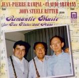 Musique romantique pourr 2 flûtes et piano