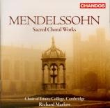 MENDELSSOHN-BARTHOLDY - Marlow - Sechs Sprüche für das Kirchenjahr (anti