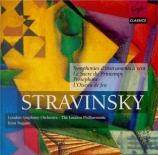 STRAVINSKY - Nagano - Symphonies d'instruments à vent